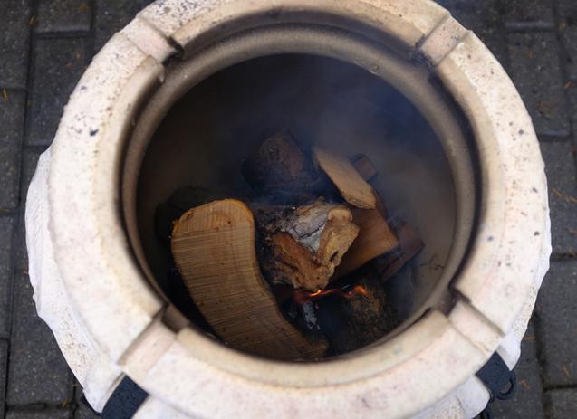 Amphora tandoors logatva sutott nyarsak faparazs felett hunter 02