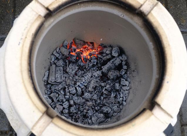 Amphora tandoors logatva sutott nyarsak faparazs felett hunter 03