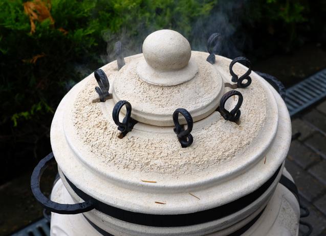 Amphora tandoors logatva sutott nyarsak faparazs felett hunter 08