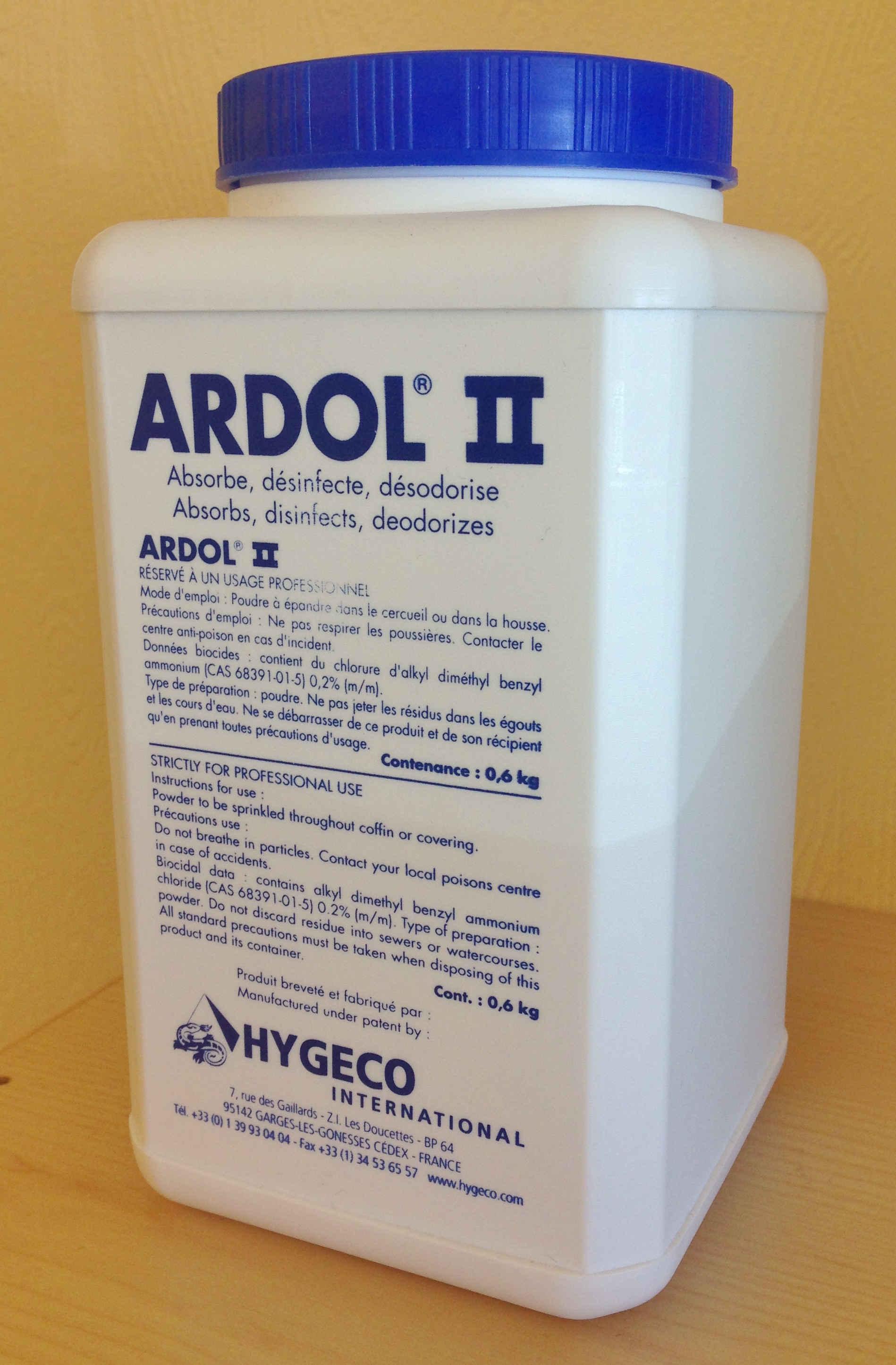 Ardol luktfjerner 0,6 kg