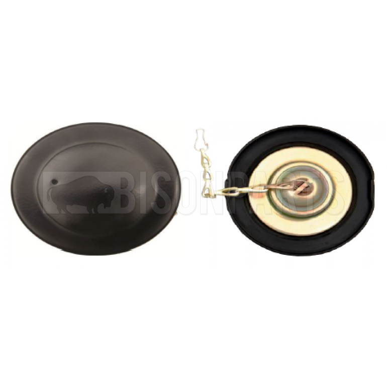 40-85mm Static Black Painted Vented Unlocking Tank Cap