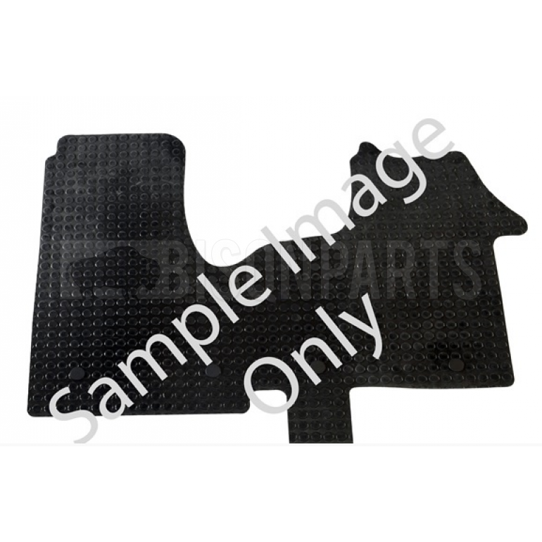 Tailored Rubber Mats Ford Ranger MK5 (2012 on) 4 Piece With 2 Clips