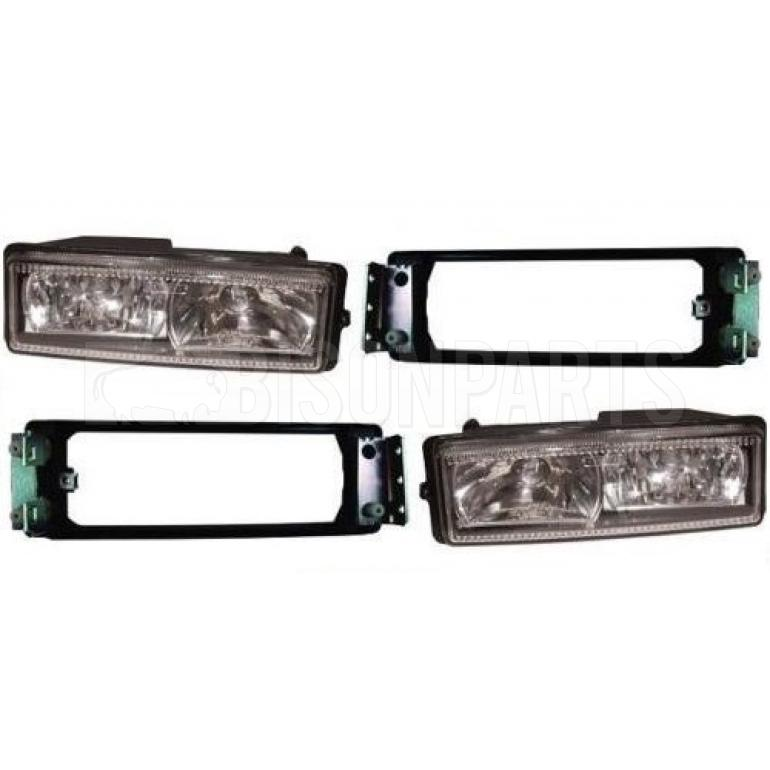 FRONT FOG & SPOT LAMPS WITH BRACKETS RH & LH (PAIR)