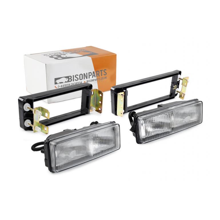 DAF LF, CF & XF FOG & SPOT LAMPS WITH BRACKETS RH & LH (PAIR)