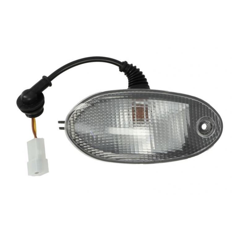 "/""FITS IVECO EUROCARGO CLEAR SUNVISOR MARKER LAMP PASSENGER SIDE LH BP91-055"
