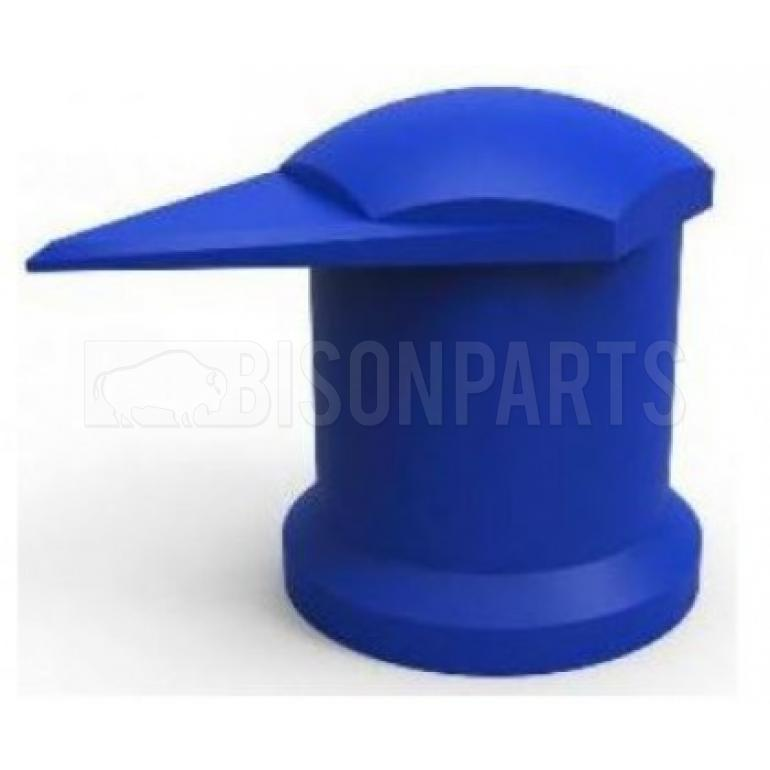 32MM LONG REACH DUSTITE WHEEL NUT COVERS BLUE (EACH)