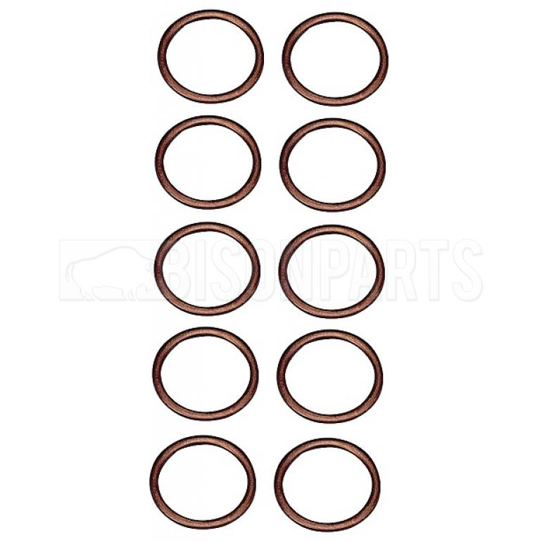 M22 COPPER WASHERS (PKT 10)