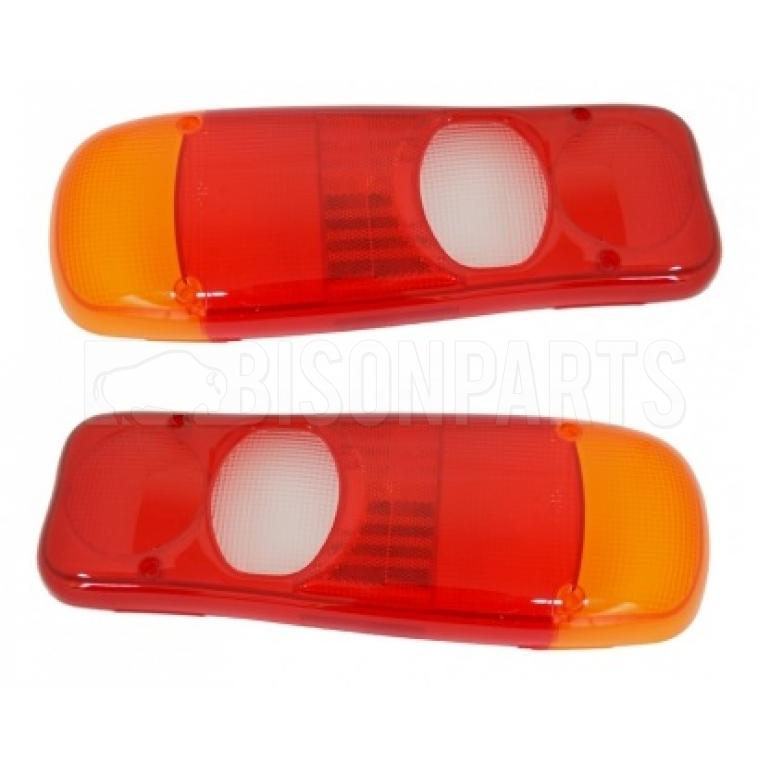 REAR LAMP LENS FITS RH OR LH (PAIR)