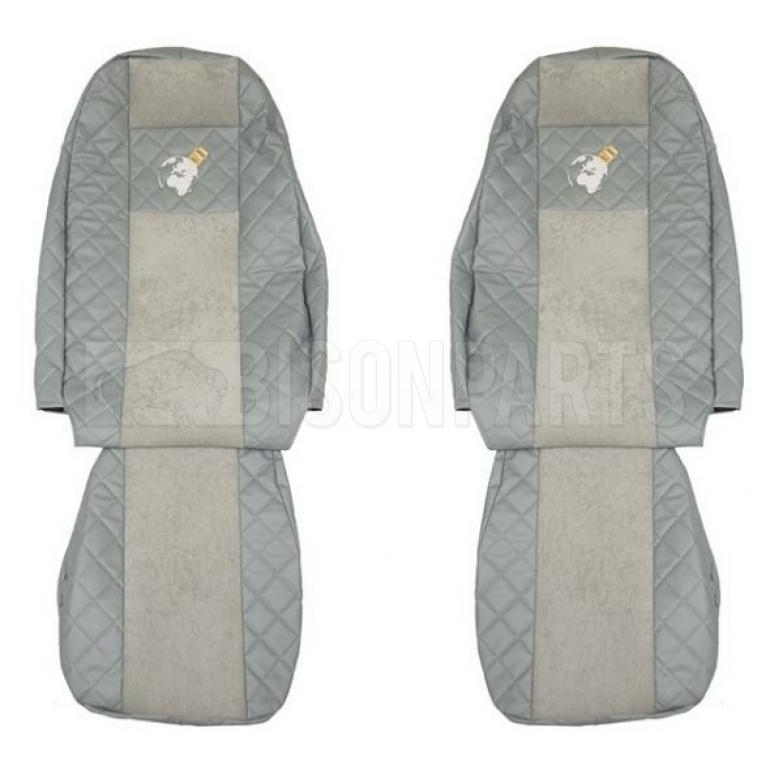 VOLVO FH VERSION 4 EURO 6 (2013 on) Seat Covers Elegance (Grey)