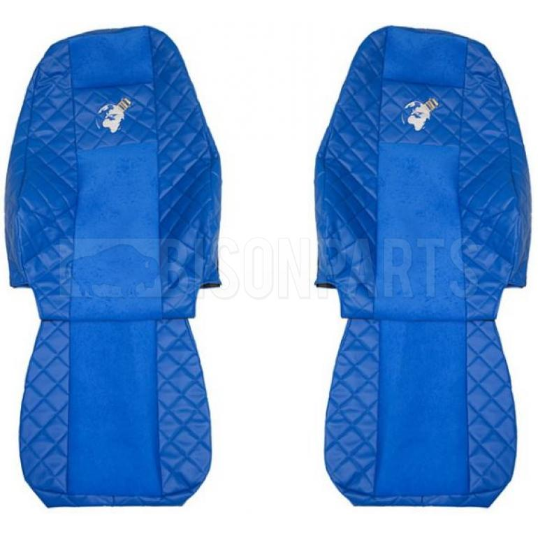 VOLVO FH VERSION 4 EURO 6 (2013 on) Seat Covers Elegance (BLUE)