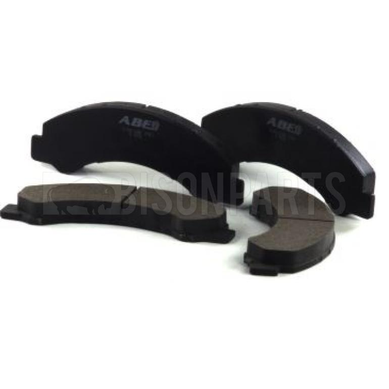 FITS FRONT OR REAR BRAKE PAD SET & CLIPS