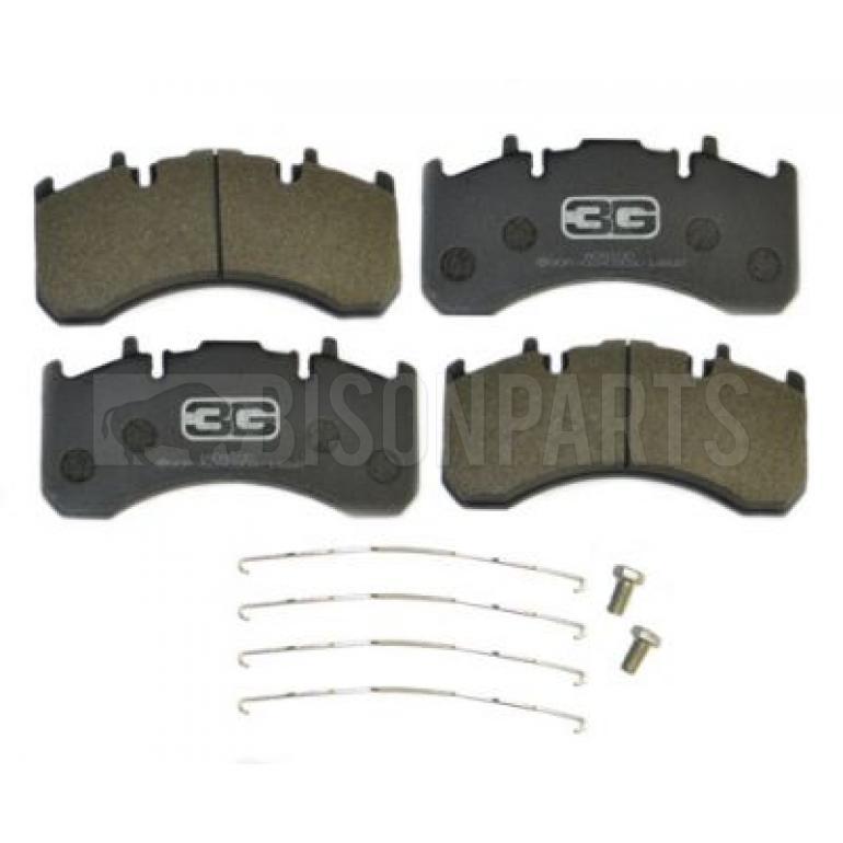 Fixing Kit *VOLVO FE FH FM FMX Brake Pad Set Front + Rear