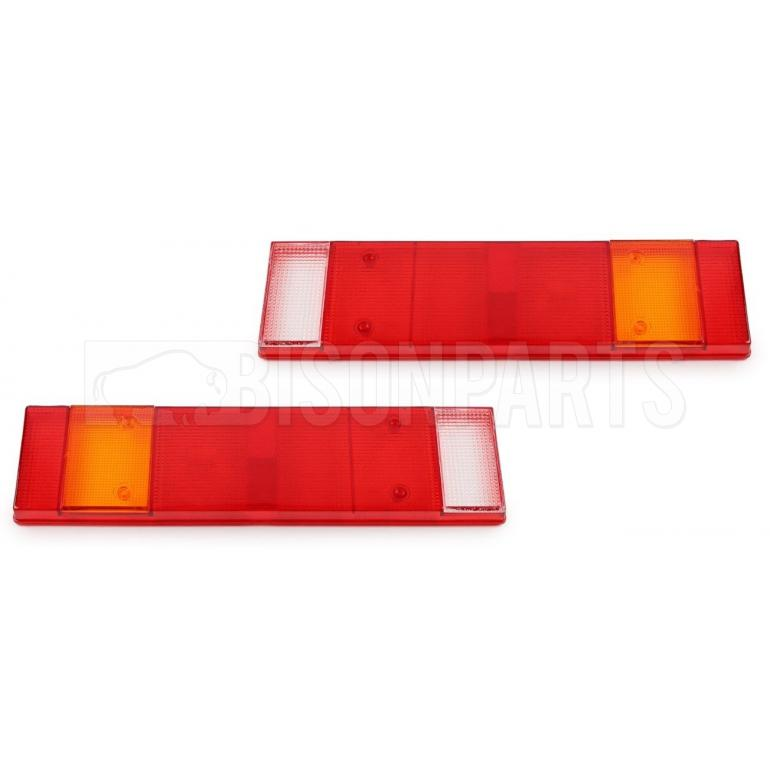 REAR COMBINATION LAMP LENS ONLY FITS RH & LH (PKT 2)