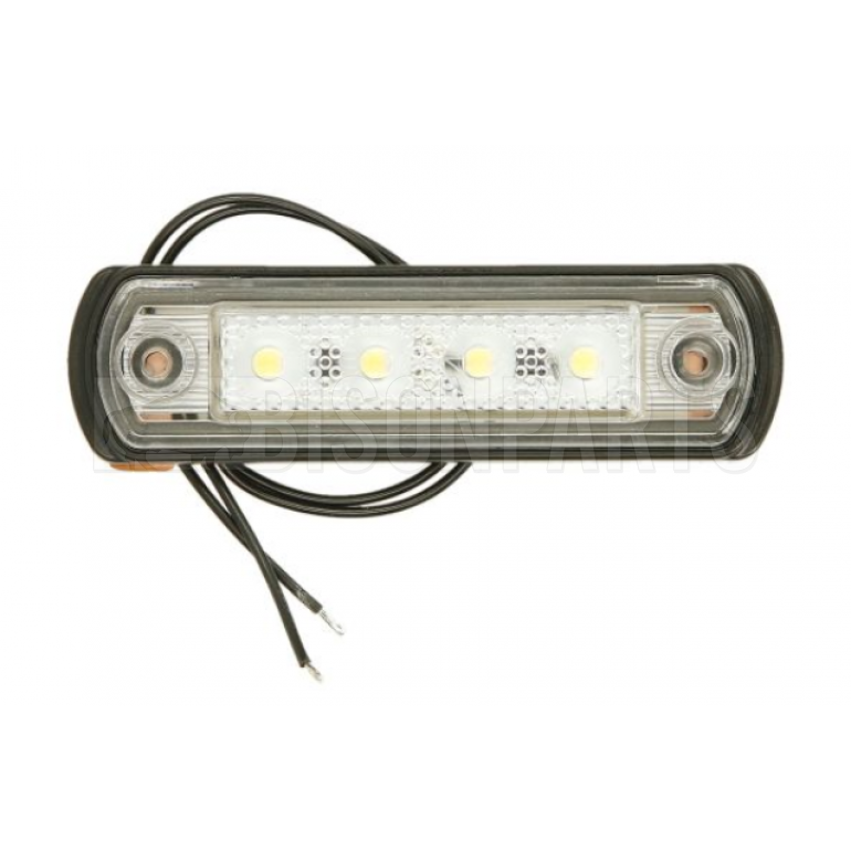 LED CLEAR MARKER LAMP