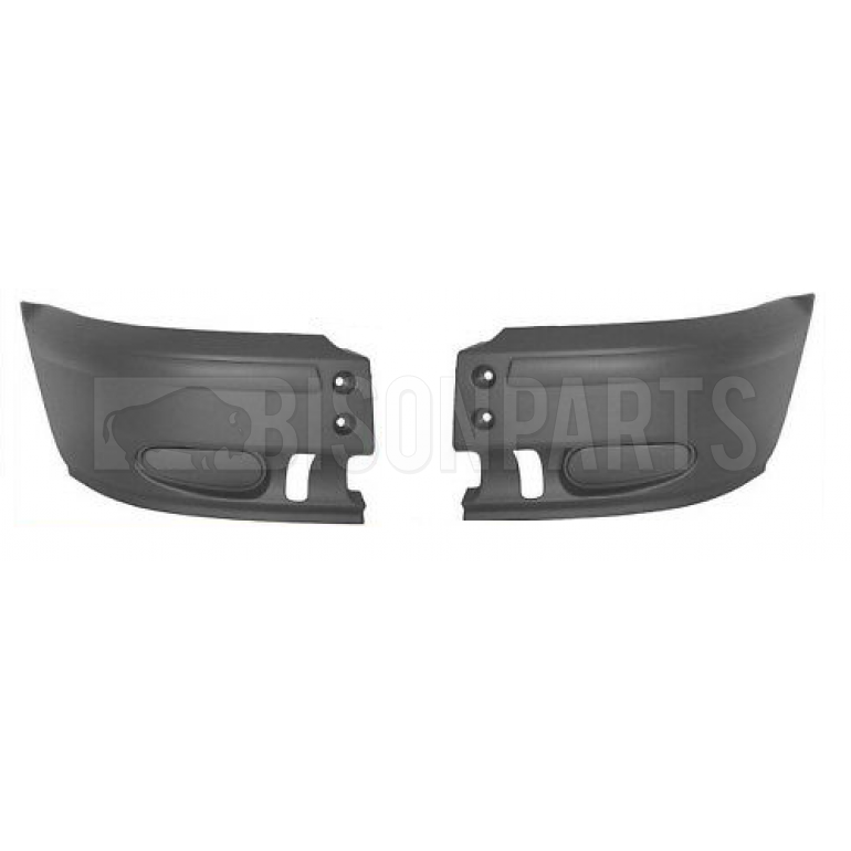 Front Bumper Corners (No Lamp Holes) RH & LH