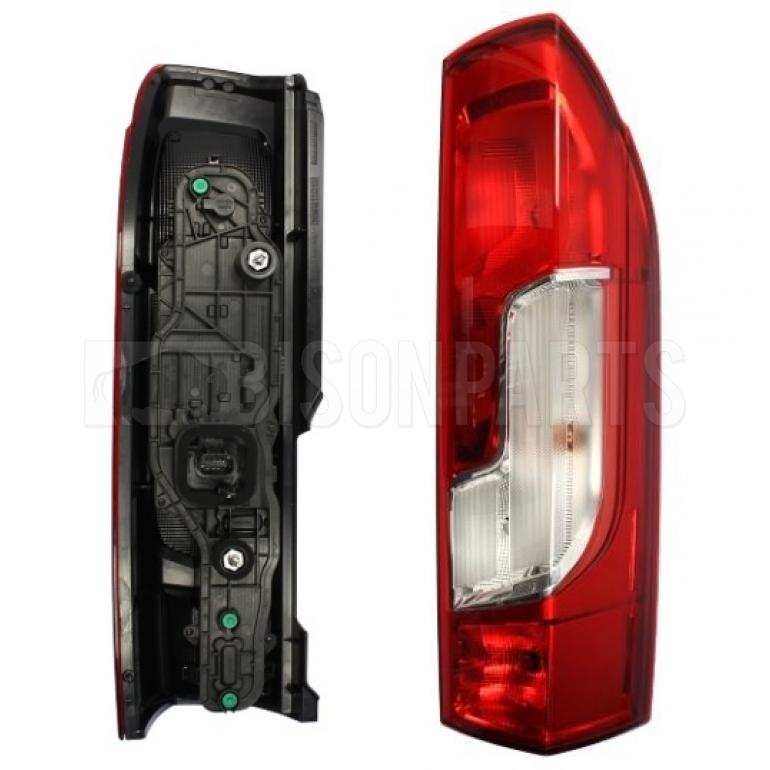 PANEL VAN REAR LAMP KIT DRIVER SIDE RH (WITH BULB HOLDER AND BULBS)