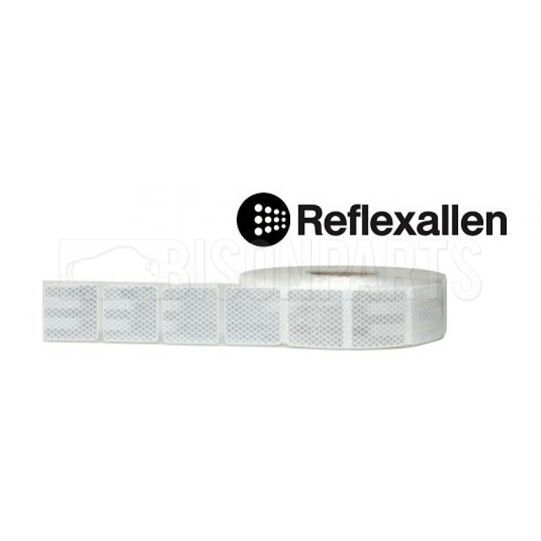 WHITE CONSPICUITY REFLECTIVE TAPE 50 METRES