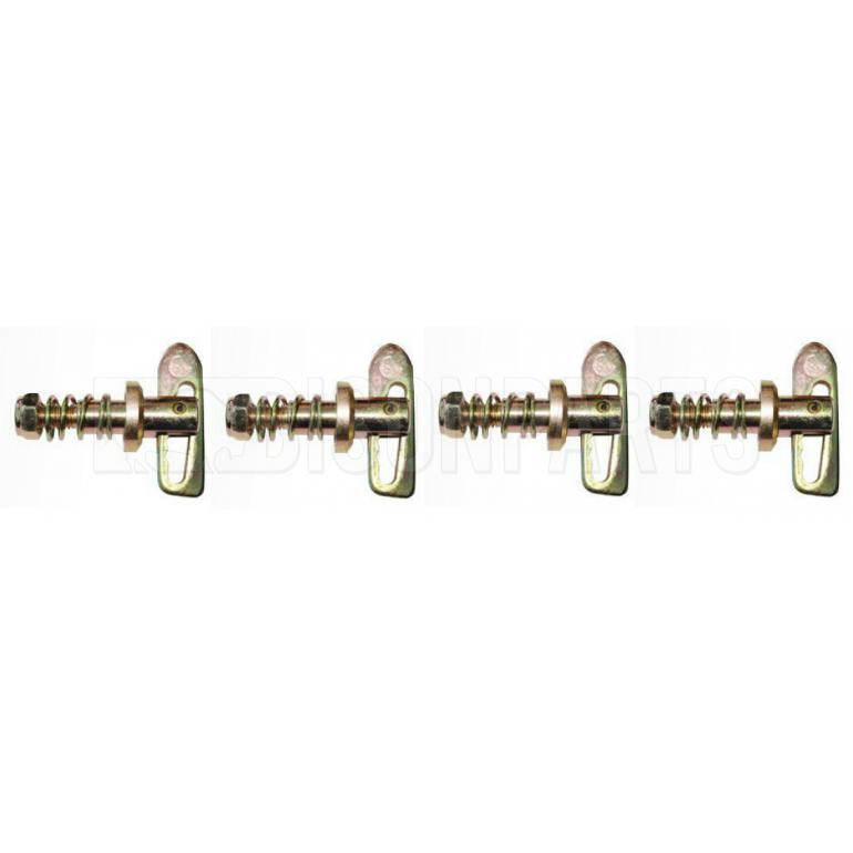 SCREW-ON ANTI LOOSE FASTENERS (PKT 4)