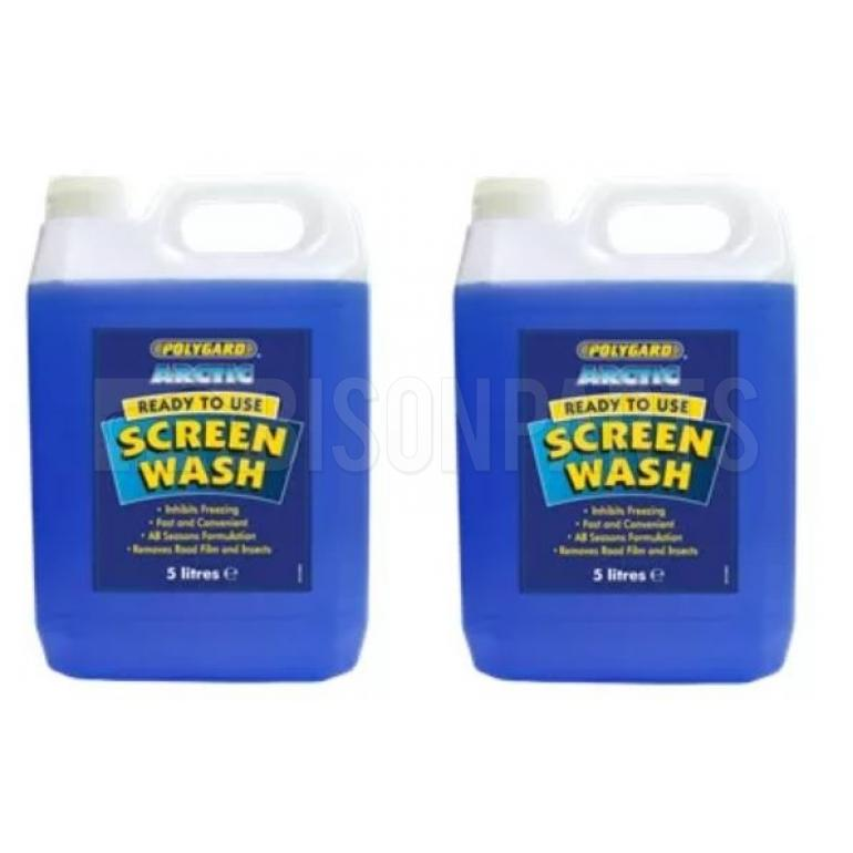 POLYGARD -5C ARCTIC SCREEN WASH CONCENTRATED 5 LITRES (PKT 2)