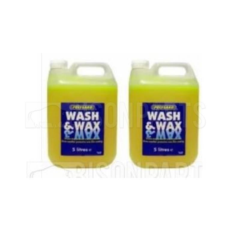 POLYGARD WASH & WAX 5 LITRES (PKT 2)