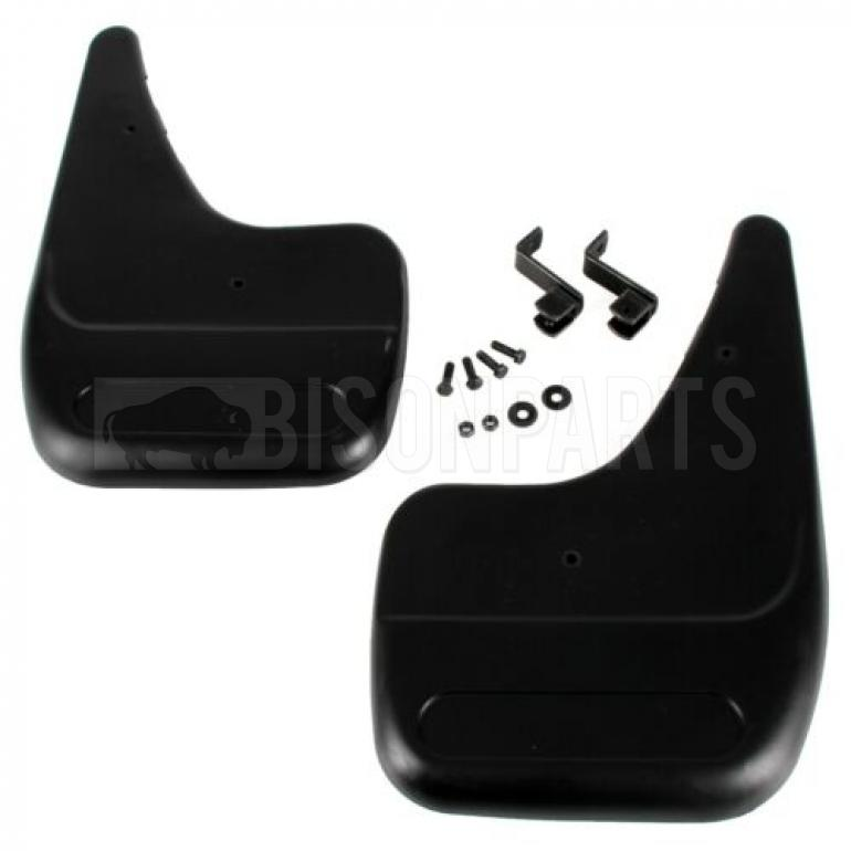 REAR MUDFLAPS WITH FITTING KIT RH & LH (PAIR)