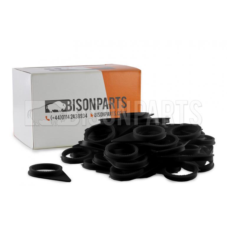 32MM WHEEL NUT INDICATOR BLACK (PKT 100)