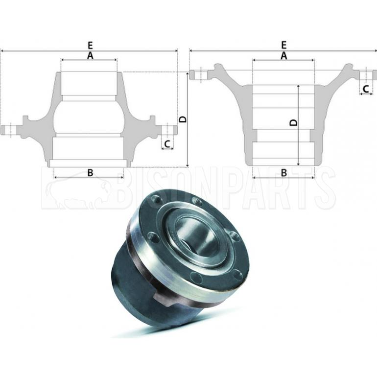 IVECO Daily Hub cw Bearings Front Axle  for Disc    Brakes