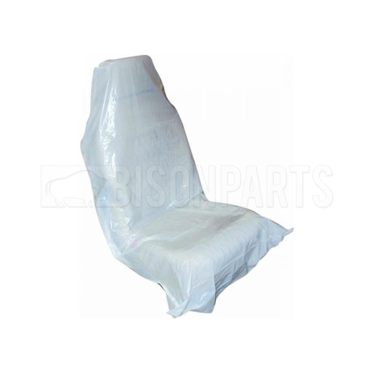 UNIVERSAL DISPOSABLE PLASTIC SEAT COVERS (X100)