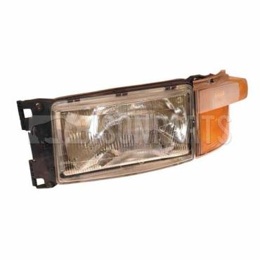Scania 4 Series P & R Cab (95-04) 5 Series P & R Cab (04-10) Headlamp / Headlight Complete With Indicator - LH/NS