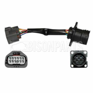headlamp plug converter fits rh or lh bison parts. Black Bedroom Furniture Sets. Home Design Ideas