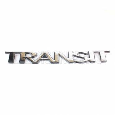 Transit Logo Name Plate Emblem Stick On Badge 1666170 Bison Parts