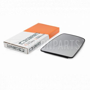 LH UK Wing Mirror Glass With Backing Plate Passenger Side