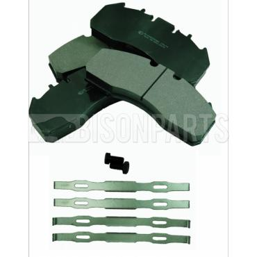 VOLVO FE, FH, FM & FMX FRONT OR REAR BRAKE PAD SET & FITTING KIT (AXLE SET)