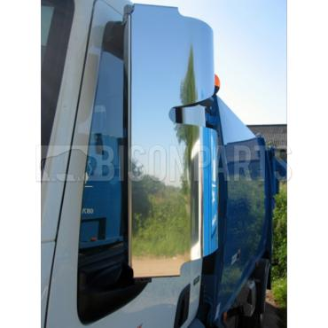 DAF LF 2006 ONWARDS STAINLESS STEEL MIRROR GUARD SET RH & LH (PAIR)