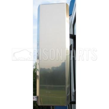 STAINLESS STEEL MIRROR BACK GUARD SET RH & LH (PAIR)