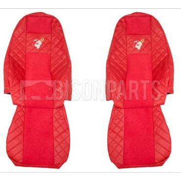 VOLVO FH VERSION 4 EURO 6 (2013 on) Seat Covers Elegance (RED)