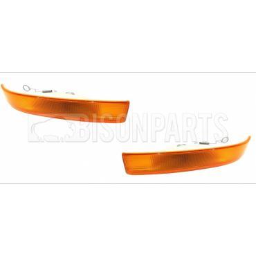 Mirror Indicators Bulb Holders /& Bulbs LH /& RH Pair Of