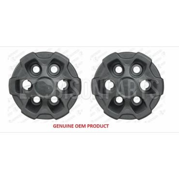 6 HOLE WHEEL TRIM HUB COVER FITS RH & LH (PAIR)