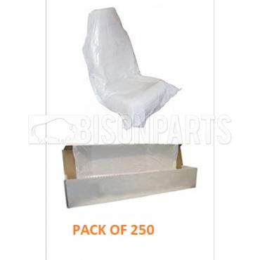 DISPOSABLE SEAT COVERS (PKT 250)