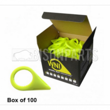 Wheel Nut Indicator Yellow 27mm (Sold in Boxes of 100)