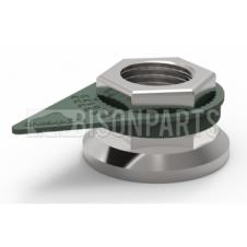 Drab Olive Grey Checkpoint Loose Wheel Nut Indicator sizes range from 17mm - 50mm (Sold in Bags of 100) Drab Olive Grey 17mm