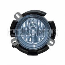 Iveco Stralis (02-07) Blue Fog Lamp (Outer) - Fits RH or LH (C/W Round Bulb Holder)