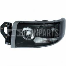 Renault Premium Version 2 (05-10) Version 3 (10 On) Headlight / Headlamp Smoked Lens (4 Light Function) *Manual Adjust - LH/NS