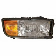 MERCEDES ACTROS MP1 1996-2002 HEADLAMP DRIVER SIDE RH