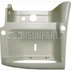 Renault Premium Version 2 (05-10) Version 3 (10 On) Step Surround PAINTED WHITE - LH/NS