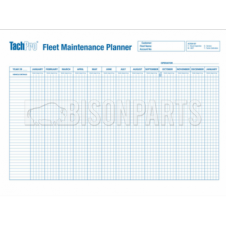 A1 VEHICLE FLEET MAINTENANCE & RECORD WALL CHART