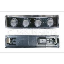 LED CLEAR SUNVISOR MARKER LAMP FITS RH OR LH