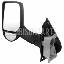 Ford Transit Ford Transit MK6 MK7 (2000-2014) Door Mirror Manual Long Arm Twin Glass Type & Black Cover Passenger Side (N/S)