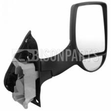 Ford Transit Ford Transit MK6 MK7 (2000-2014) Door Mirror Manual Long Arm Twin Glass Type & Black Cover Driver Side (O/S)