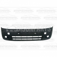 Ford Transit Connect (2006-2009) Front Bumper With Lamp Holes - Black